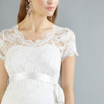 Abby ivory long detail