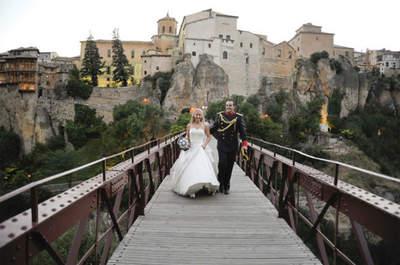 Le mariage enchanteur de Gloria et Ramiro au Parador de Cuenca en Espagne