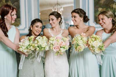 So passen Brautjungfern und Braut zusammen!