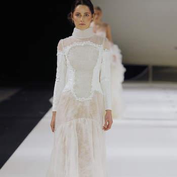 Yolan Cris. Credits: Barcelona Bridal Fashion Week