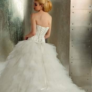Robe de mariée Christine Couture 2013 - modèle Etincelle dos