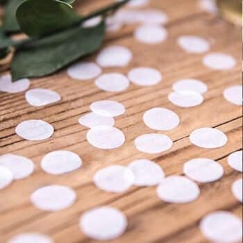 Confetin blanco - The Wedding Shop