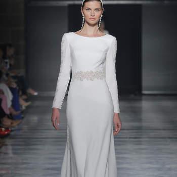 Rosa Clará. Credits: Barcelona Bridal Fashion week
