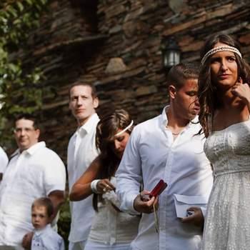 Gli ospiti in attesa della sposa
