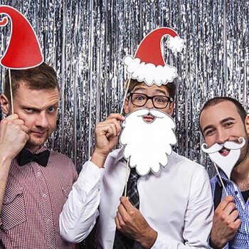 Fotomatón Santa Claus 4 piezas - Compra en The Wedding Shop
