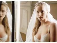 Lencería con glamour para novias de La Perla
