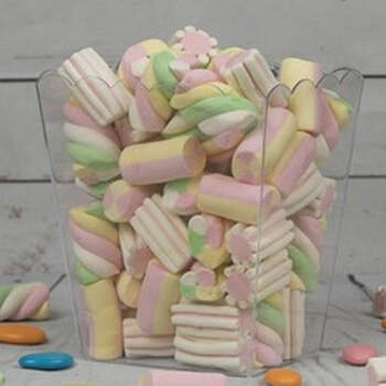 Envase transparente rectángulo para Candy Bar- Compra en The Wedding Shop