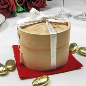 Mini cuit-vapeur en bambou - mariage-original.com