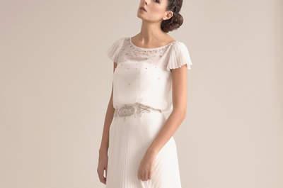 35 vestidos de novia para mujeres altas que no debes dejar escapar. ¡Descúbrelos!