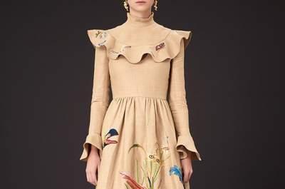 La estética de Frida Kahlo en un nivel exquisito: Vestidos de fiesta 2015 de Valentino