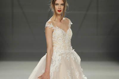 Vestidos de noiva com renda e bordados: renda-se!