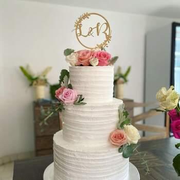 Foto: Rycco Rycco - pastel de bodas blanco