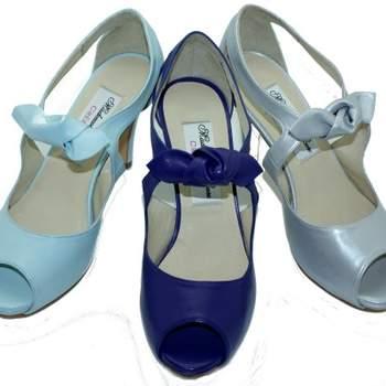 Chaussures Mademoiselle Rose - modèles Bastille