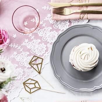 Dentelle Motif Floral 45cm - The Wedding Shop !