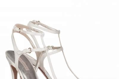 Sandálias de noiva 2015: sapatos perfeitos para a nova estação