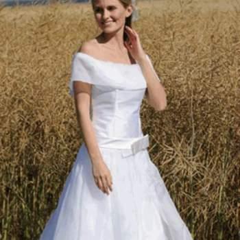 Robe de mariée Charley, vue de face - Crédit photo: Catherine Varnier