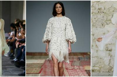 Long-Sleeved Wedding Dresses You Don't Want to Miss