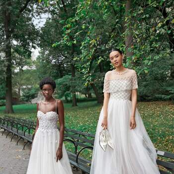 Reem Acra. Bridal Fall Collection.