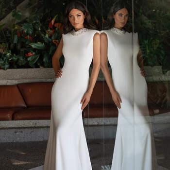 Créditos: Pronovias Cruise 2021 | Modelo do vestido: Keer