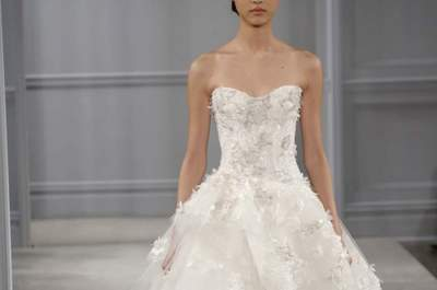 Monique Lhuillier Bridal Collection Spring/Summer 2014
