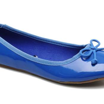 Ballerine Flashy couleur bleu, de Fakarava Refresh. Source : sarenza
