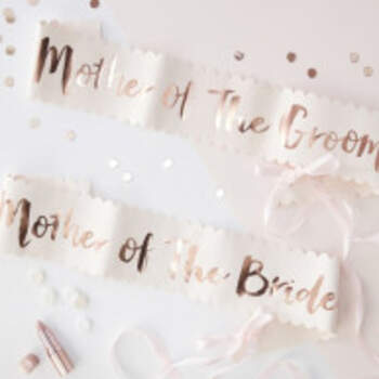 Echarpes Mères Team Bride 2 Pièces - The Wedding Shop !