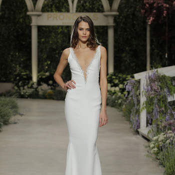 Pronovias 2019 Atelier Collectie. Credits: Barcelona Bridal Fashion Week