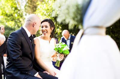Un día emotivo en la Sierra de Guadarrama: la boda de Patricia y Jorge