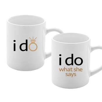 Tasse I Do 2 Pièces -  The Wedding Shop !