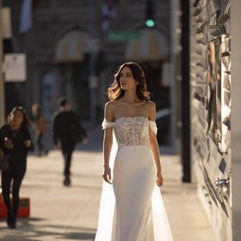 Vestido de noiva modelo Novak da coleção Pronovias 2021 Cruise Collection