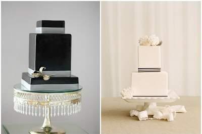 Descubre esta selección de tortas y cupcakes para tu banquete de matrimonio