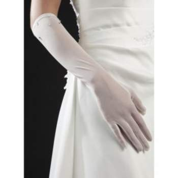 Gants de mariée Caresse. Crédit photo : Mariage-pronoce