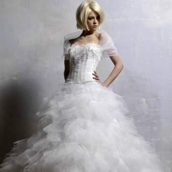 Robe de mariée Pélican - Crédit photo: Hervé Mariage