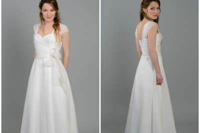 Osez la robe de mariée de créateur grâce aux petits prix de la collection