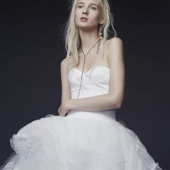 Vera Wang Colección otoño 2015
