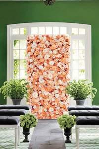 Photocall - czyli pionowy ogród na weselu