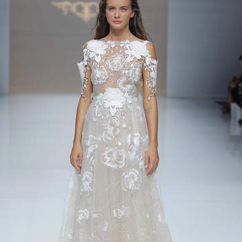 Marco&Maria. Credits: Barcelona Bridal Fashion Week