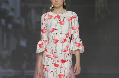 Vestidos de fiesta estampados: estilismos llenos de vida y color