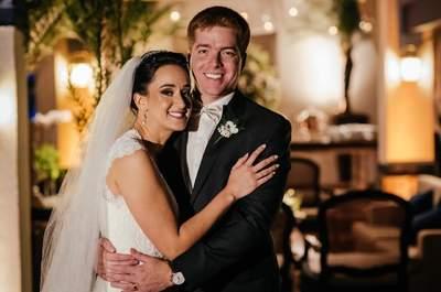 Laura & Diego: casamento clássico com organização impecável no Rio de Janeiro!