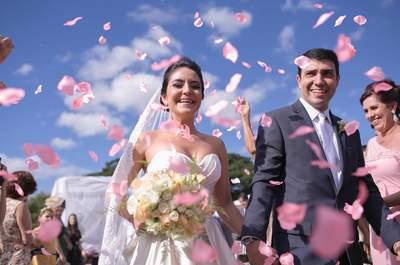 Casamento de Clara e Daniel: alegria contagiante ao ar livre em BH!