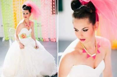 Avantgarde-Braut – der neue europäische Hochzeits-Trend!