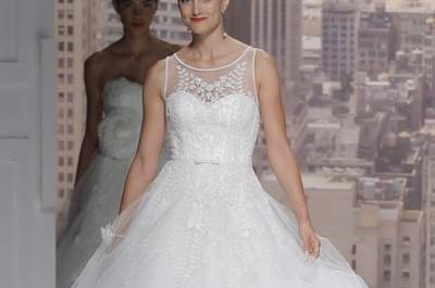 Vestidos de novia 2015 de Rosa Clará, ¡envuélvete en magia!