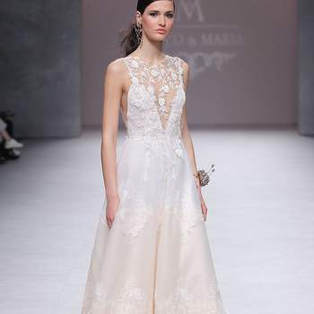 Marco Maria. Barcelona Bridal Fashion Week.