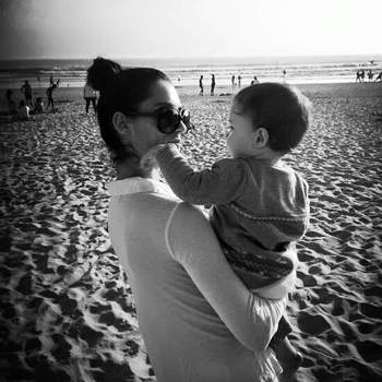 A apresentadora Joana Teles e Pedro Costa Lopes foram novamente pais em 2017. Afonso nasceu a 4 de março e juntou-se a Maria Inês, de quatro anos. Joana é ainda mãe de um rapaz, fruto de uma anterior relação. Foto via Instagram Joana Teles