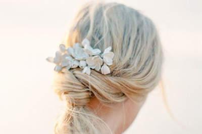 Increíbles peinados de novia con coleta de caballo: Looks ¡de infarto!