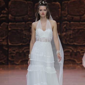 Inmaculada García.Credits: Barcelona Bridal Fashion Week