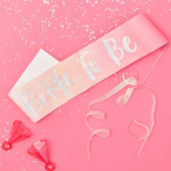Echarpe Bride To Be Rose - The Wedding Shop !