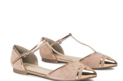 30 chaussures de mariée plates 2017 : dites adieu aux talons et bonjour au confort !