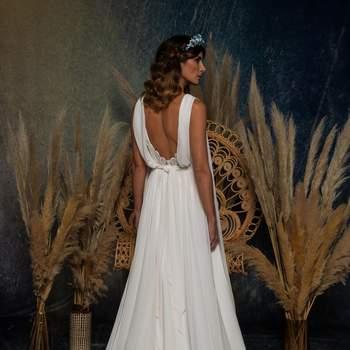Vestido Pureza Mello Breyner Atelier