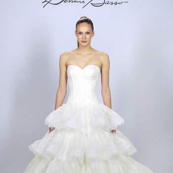 Designer: Dennis Basso  Bridal Fashion Week Spring 2013 New York, April 2012
